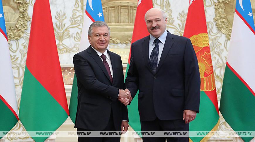 Шавкат Мирзиёев и Александр Лукашенко. Фото из архива