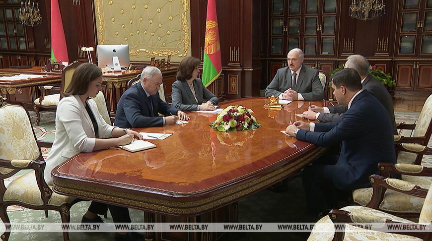 Лукашенко поручил оперативно подготовить документы по дальнейшей работе правительства