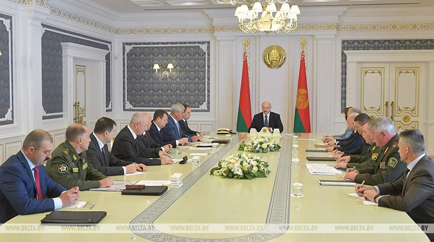 Лукашенко о координационном совете оппозиции: это попытка захвата власти со всеми вытекающими последствиями