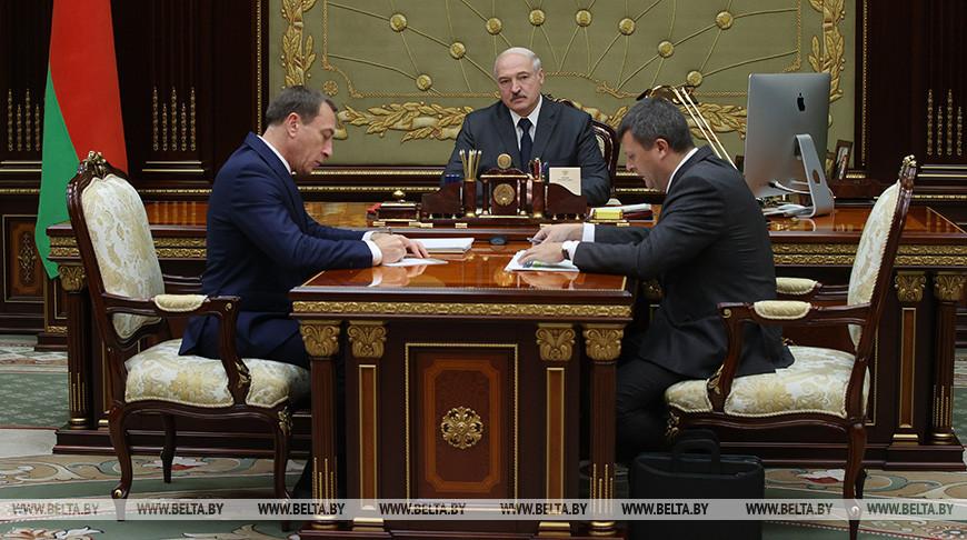 Николай Снопков, Александр Лукашенко и Юрий Селиверстов