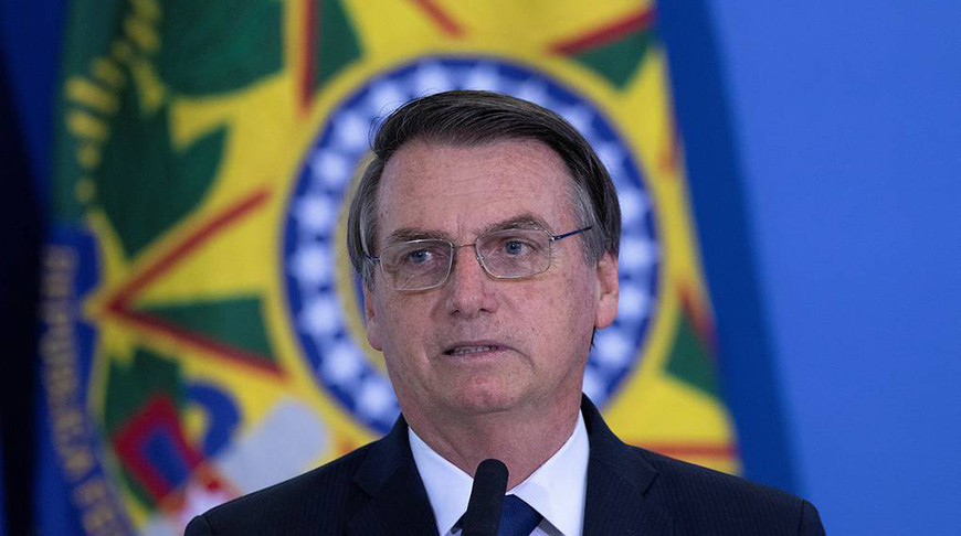 Президент Бразилии Жаир Болсонару. Фото  EPA - EFE