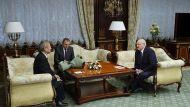 Цуй Цимин и Александр Лукашенко