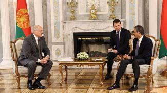 Александр Лукашенко и Мухаммед Али аль-Аббар