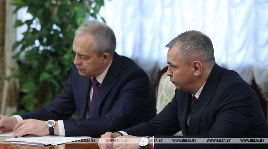 Игорь Сергеенко и Андрей Сойко
