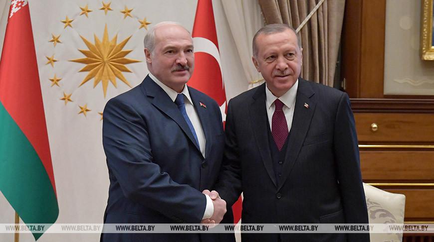 Александр Лукашенко и Реджеп Тайип Эрдоган. Фото из архива