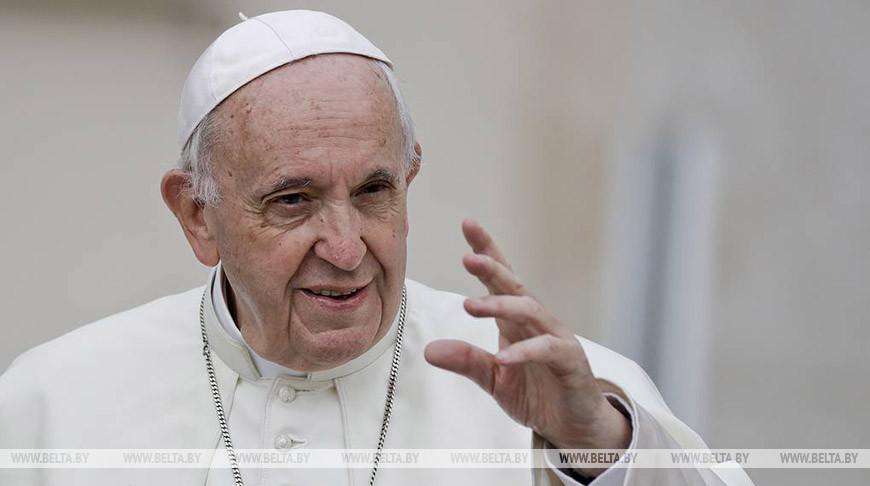 Папа Римский Франциск. Фото  AP Photo