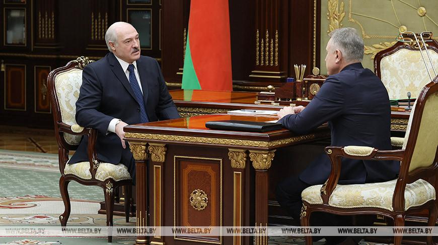 Александр Лукашенко и Михаил Орда