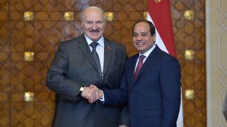 Александр Лукашенко и Абдель Фаттах аль-Сиси. Фото из архива