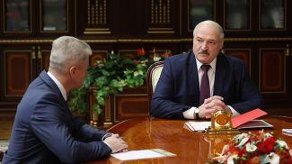 Анатолий Маркевич и Александр Лукашенко
