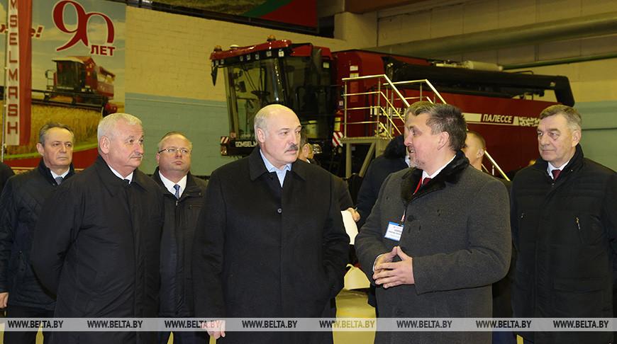 Александр Лукашенко посетит «Гомсельмаш»