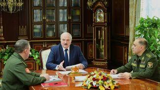 Виктор Хренин, Александр Лукашенко и Александр Вольфович