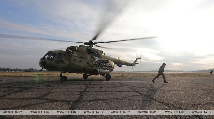 На 50-й смешанной авиабазе ВВС и ПВО. Фото из архива
