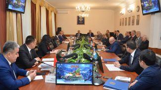 Во время заседания. Фото ОДКБ