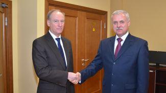 Николай Патрушев и Станислав Зась. Фото ОДКБ