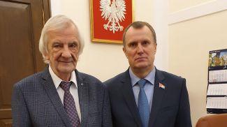 Рышард Терлецкий и Анатолий Исаченко. Фото Совета Республики