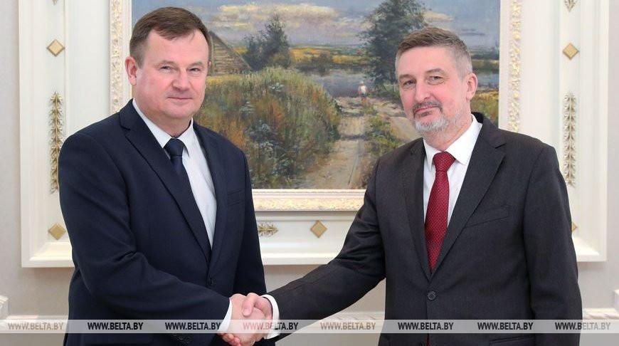 Андрей Равков и Артур Михальский