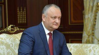 Игорь Додон. Фото из архива
