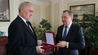 Велько Ковачевич и Владимир Макей. Фото МИД