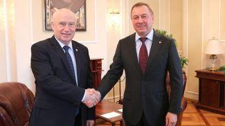 Сергей Лебедев и Владимир Макей. Фото МИД