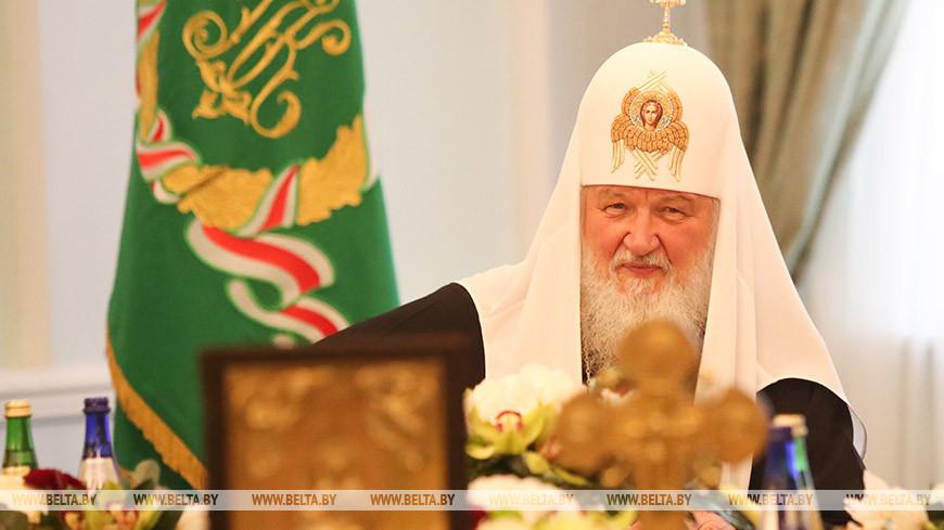 Патриарх Московский и всея Руси Кирилл. Фото из архива