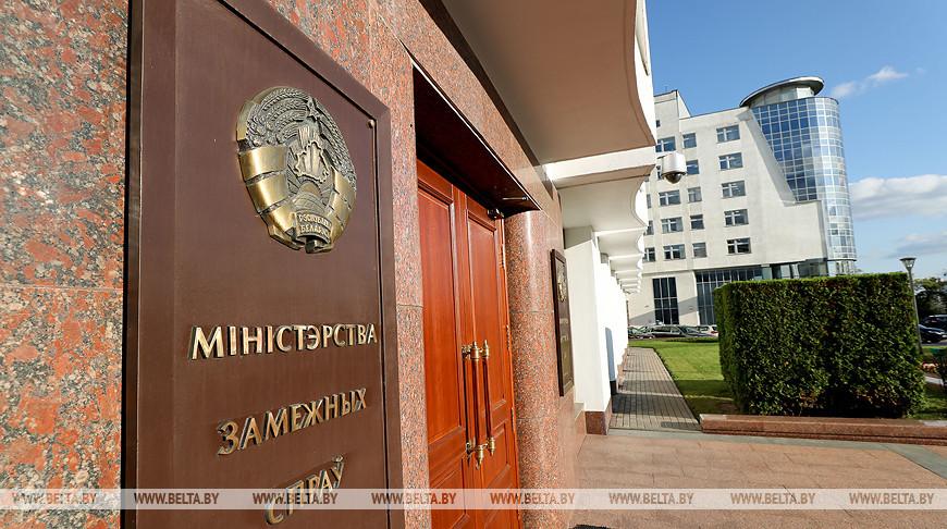 Макей обсудил с главой МИД Швеции ситуацию в Беларуси и взаимодействие с ЕС и ОБСЕ