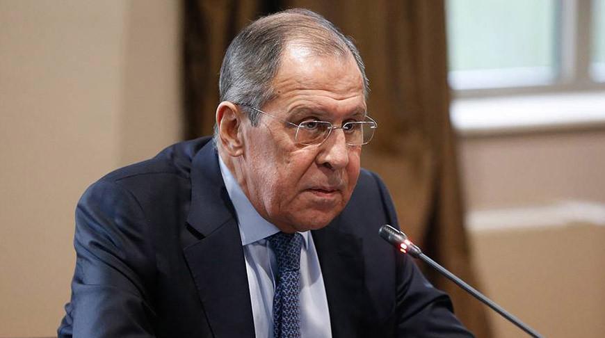 Лавров: вмешательство в Беларусь извне происходит с целью навязать свои порядки