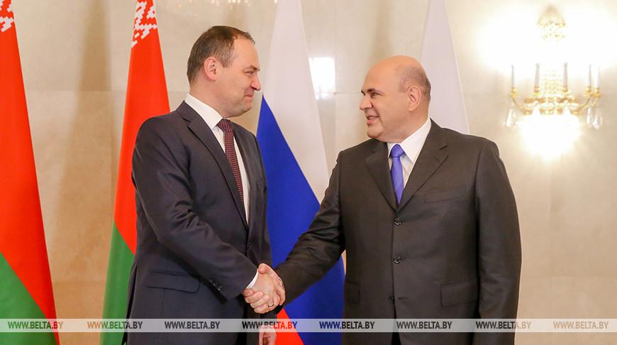 Головченко и Мишустин обсудили график предстоящих контактов