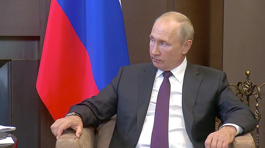 Владимир Путин. Фото пресс-службы Президента России - БЕЛТА
