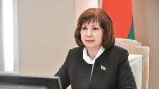 Наталья Кочанова. Фото Совета Республики