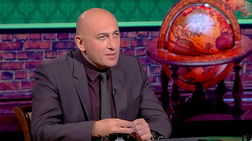 """Марат Марков. Скриншот из видео """"Беларусь 1"""""""