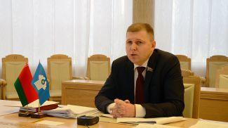 Сергей Сивец. Фото Совета Республики