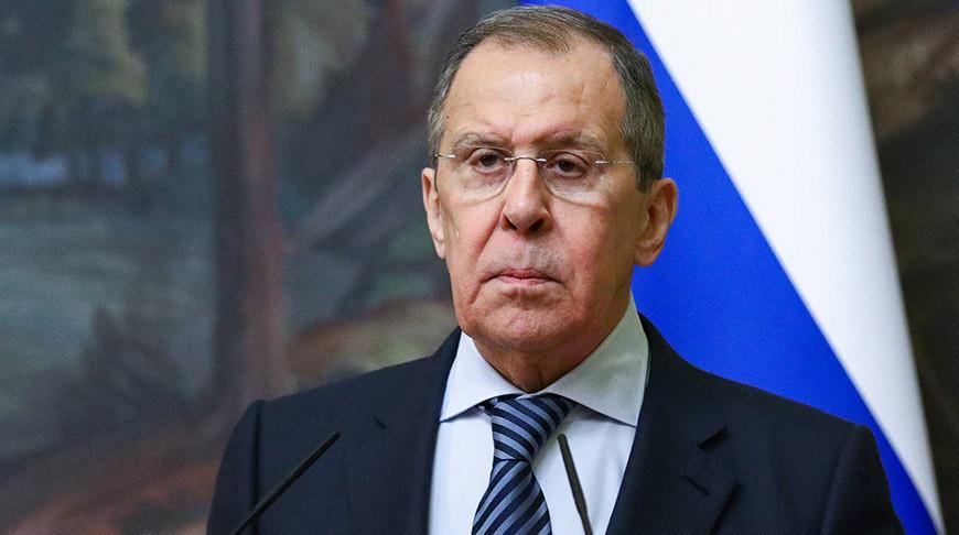 Сергей Лавров. Фото пресс-службы МИД РФ