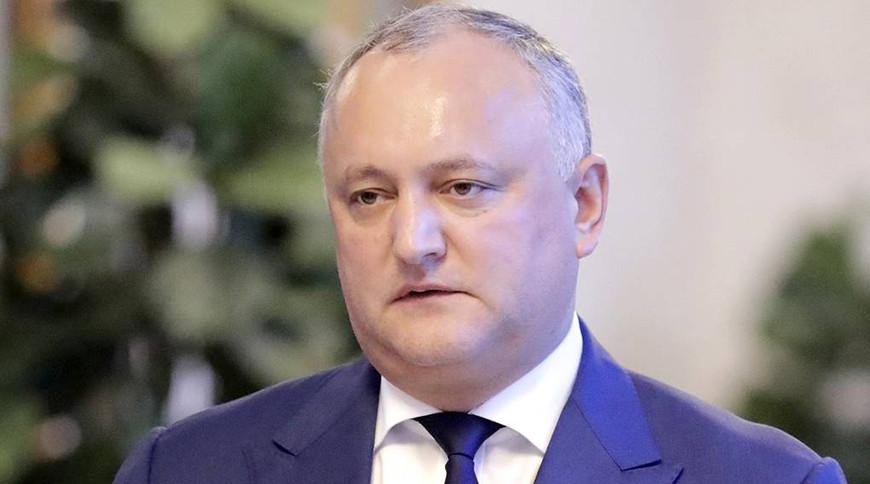 Игорь Додон. Фото ТАСС