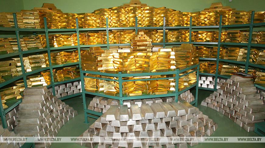 Золотой запас Беларуси за год вырос до 42,2 т