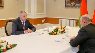 Сергей Румас и Михаил Мишустин