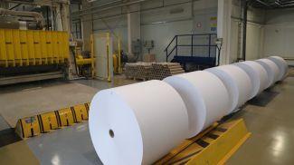 Завод газетной бумаги. Фото из архива