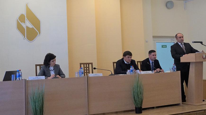 """Во время заседания. Фото """"Беллегпрома"""""""
