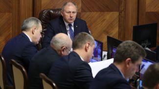 Сергей Румас во время заседания