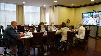 Во время совещания. Фото ЕЭК