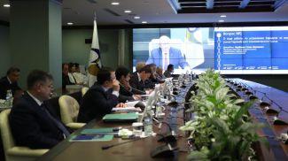 Во время заседания Совета ЕЭК. Фото ЕЭК
