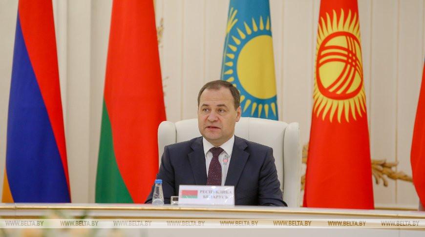 Головченко: в ЕАЭС пока не удается решить вопросы свободной торговли без изъятий и ограничений