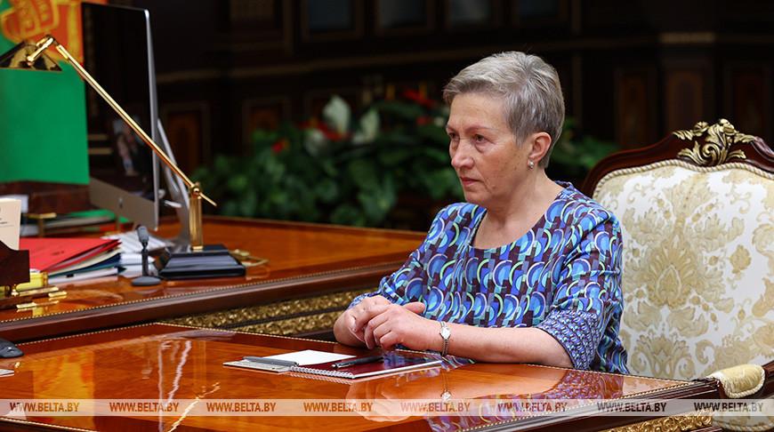 Руководитель временной администрации Белгазпромбанка Надежда Ермакова