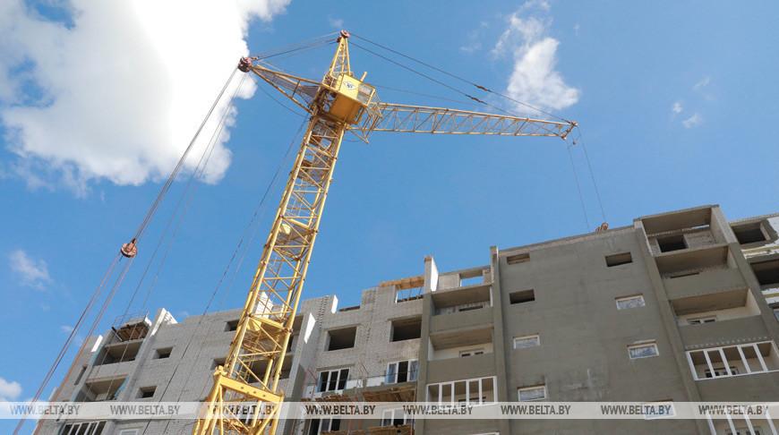 Более 20 тыс. квартир построили в Беларуси в I полугодии
