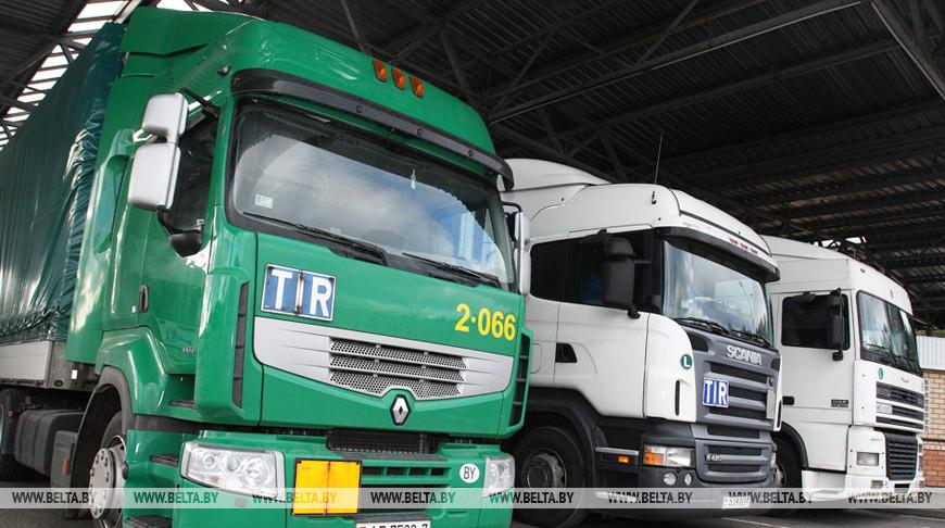 Грузоперевозки транспортных предприятий Беларуси в январе-августе сократились на 7,8%