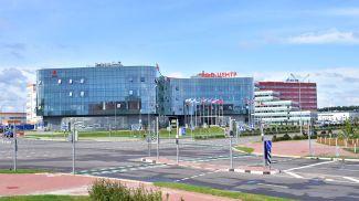 """Центр инноваций. Фото Китайско-Белорусского индустриального парка """"Великий камень"""""""