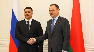 Михаил Ведерников и Роман Головченко