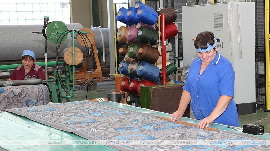 'Витебские ковры' планируют производить в брестском филиале до 1 млн кв.м продукции в 2021 году