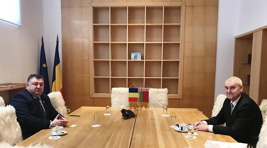 Фото белорусского загранучреждения в Бухаресте