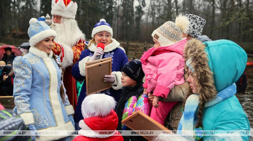 Гости праздника в Беловежской пуще. Фото из архива