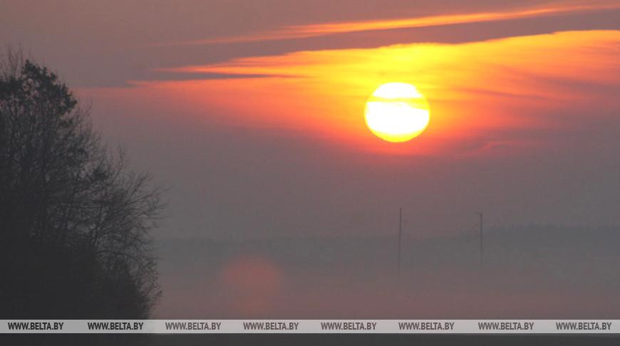 Теплая и сырая погода ожидается в Беларуси на этой неделе